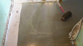 PÅ'yta betonowa na kablu grzewczym zdjęcie wideo