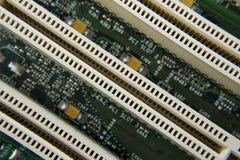 Płyta główna komputerowy obwód Fotografia Stock