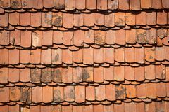Płytka dach dla tła Obrazy Stock