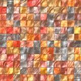 płytki ceramiczne ogrzeją kolor Fotografia Stock