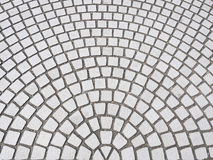 Płytki podłoga z promieniowym deseniowym sztuka abstrakta tłem Zdjęcie Stock