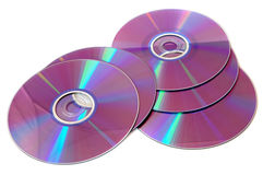 płyty dvd obraz stock