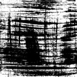 płyty tła pokrywy grunge wektora Czarny i biały szczotkarski uderzenie wzór obraz royalty free