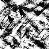 płyty tła pokrywy grunge wektora Czarny i biały szczotkarski uderzenie wzór zdjęcia stock