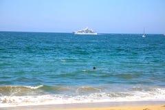 Pływać relaksuję Obraz Royalty Free