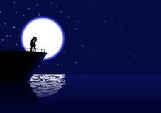 Pływać statkiem miłości ilustracji