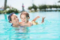 Pływać Wpólnie zdjęcie royalty free