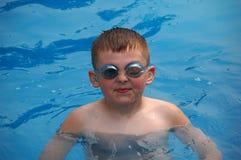Pływacka chłopiec zdjęcie royalty free