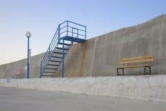 Pływacka platforma Dezerterująca obrazy stock