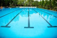 Pływacki basen Obrazy Stock