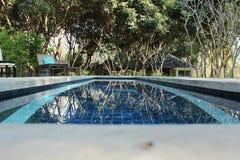 Pływacki basen Zdjęcie Royalty Free