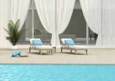 Pływacki basen zdjęcie stock