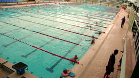 Pływacki basen, może 2016, Turcja zbiory wideo