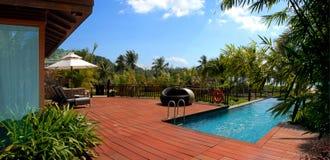 Pływacki basen, piękna naturalna sceneria, Obraz Stock
