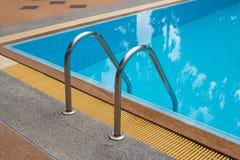 Pływacki basen z pięknym Obraz Stock