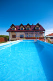 pływacki basenu jard Zdjęcia Royalty Free