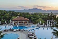 Pływackiego basenu teren, Bułgaria obrazy stock