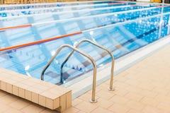 Pływackiego basenu wejście Fotografia Royalty Free