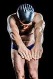 Pływaczki narządzanie nurkować zdjęcie royalty free
