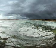 pływający lód Obrazy Stock