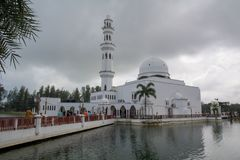 pływający meczetu obrazy royalty free
