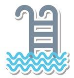 Pływający Odosobnionej Wektorowej ikony editable dodatek specjalnego dla piękna i zdroju projektów, royalty ilustracja