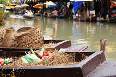 pływający rynek Thailand obrazy royalty free