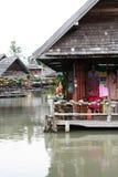 pływający rynek Thailand obraz royalty free
