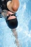 pływak kobiecej Fotografia Royalty Free