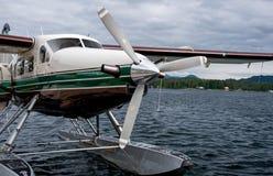 Pływakowy samolot Obraz Stock