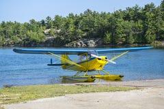 Pływakowy samolot Zdjęcie Stock
