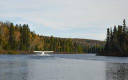Pływakowy samolot Obraz Royalty Free