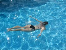 Pływanie obrazy stock