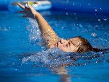 Pływanie Fotografia Stock