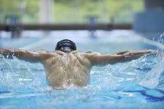 Pływanie basen zdjęcie royalty free