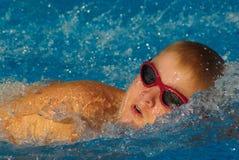 pływanie wyścigu Zdjęcie Stock