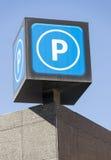 P är för att parkera Arkivfoton