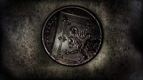 2p νόμισμα στοκ εικόνα με δικαίωμα ελεύθερης χρήσης