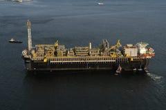P67石油平台 免版税图库摄影