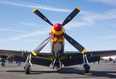 P-51野马战斗机 库存图片