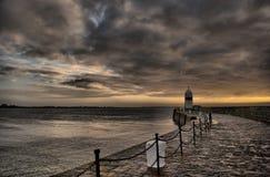 δραματικός ουρανός μονο&p Στοκ φωτογραφίες με δικαίωμα ελεύθερης χρήσης