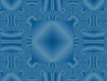 μπλε γεωμετρικός ανασκό&p Στοκ φωτογραφίες με δικαίωμα ελεύθερης χρήσης