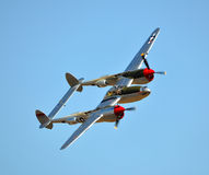 P-38 Lightning Stock Image