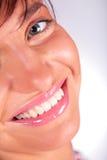 χαμόγελο κοριτσιών προσώ&p στοκ εικόνα με δικαίωμα ελεύθερης χρήσης