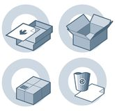 p 4 h elementy projektu ilustracja wektor