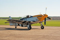 P-51  Royalty Free Stock Photography