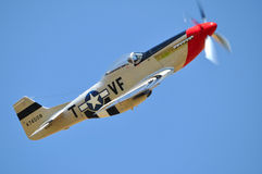 P-51 Mustang Royalty Free Stock Photo