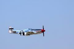 P-51 mustang Royalty-vrije Stock Foto's