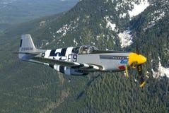 P-51B Mustang stockfotos