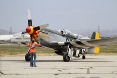 P-51D Mustang Stock Images